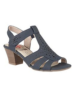 Relife Ember rip tape strap sandals