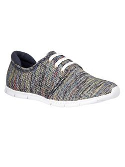 Portelli lace up trainers