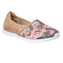 Lotus Valli floral print loafers