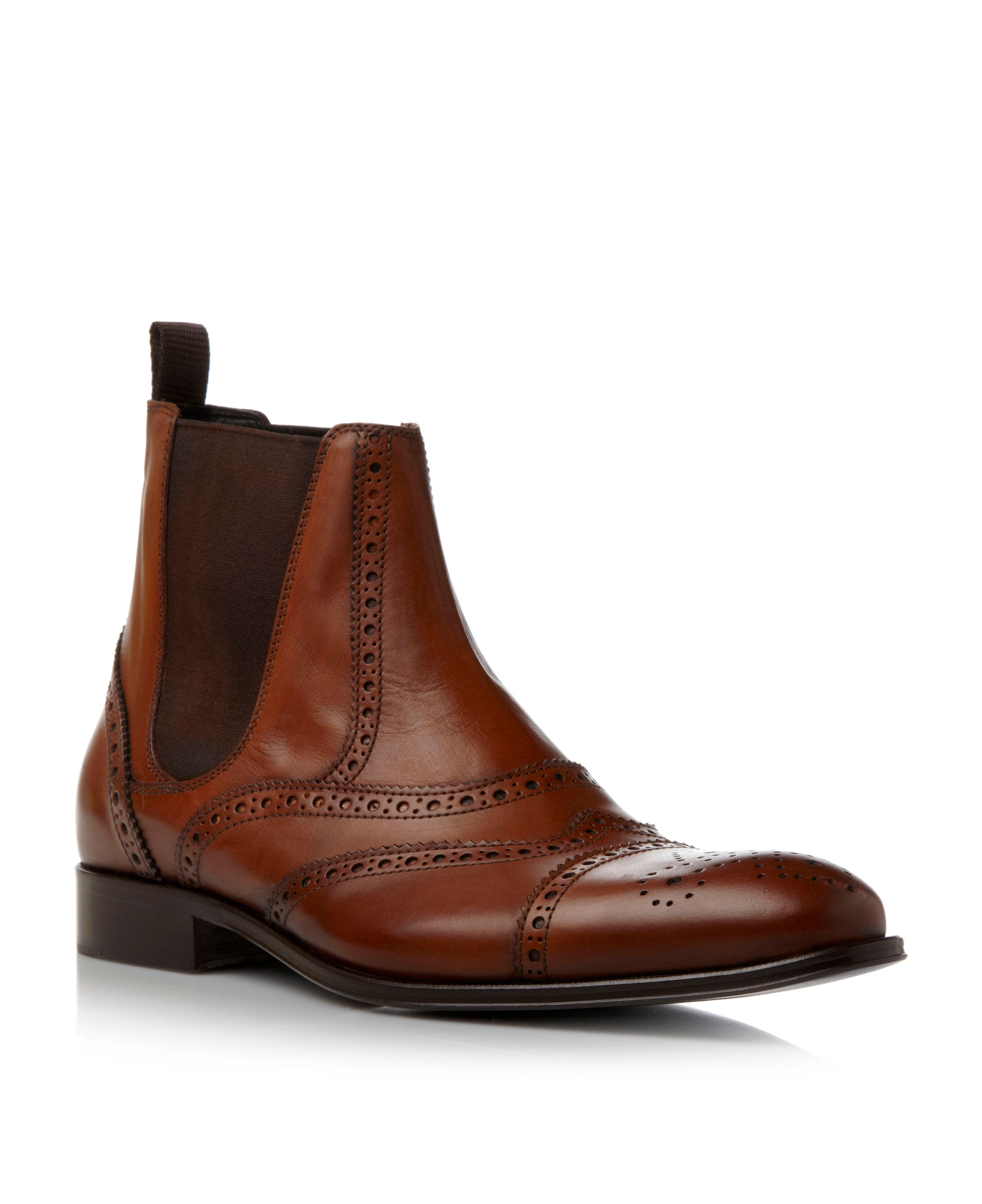 Carriage 1 brogue chelsea boots