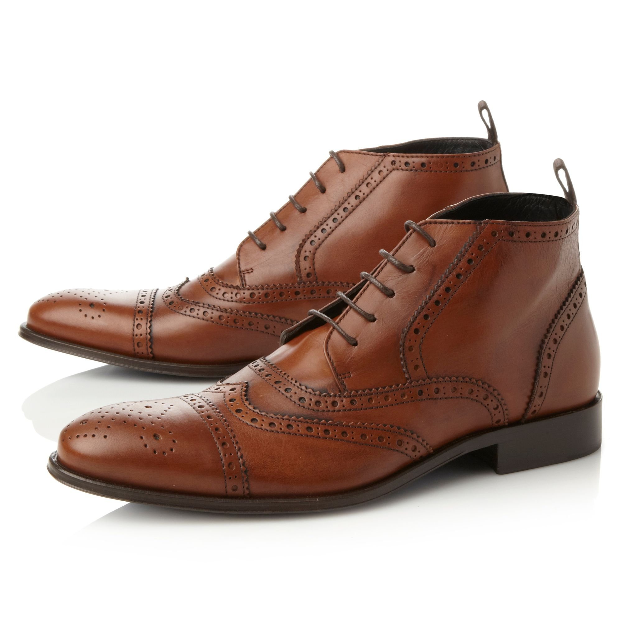 Dandy 1 brogue  lace up boots