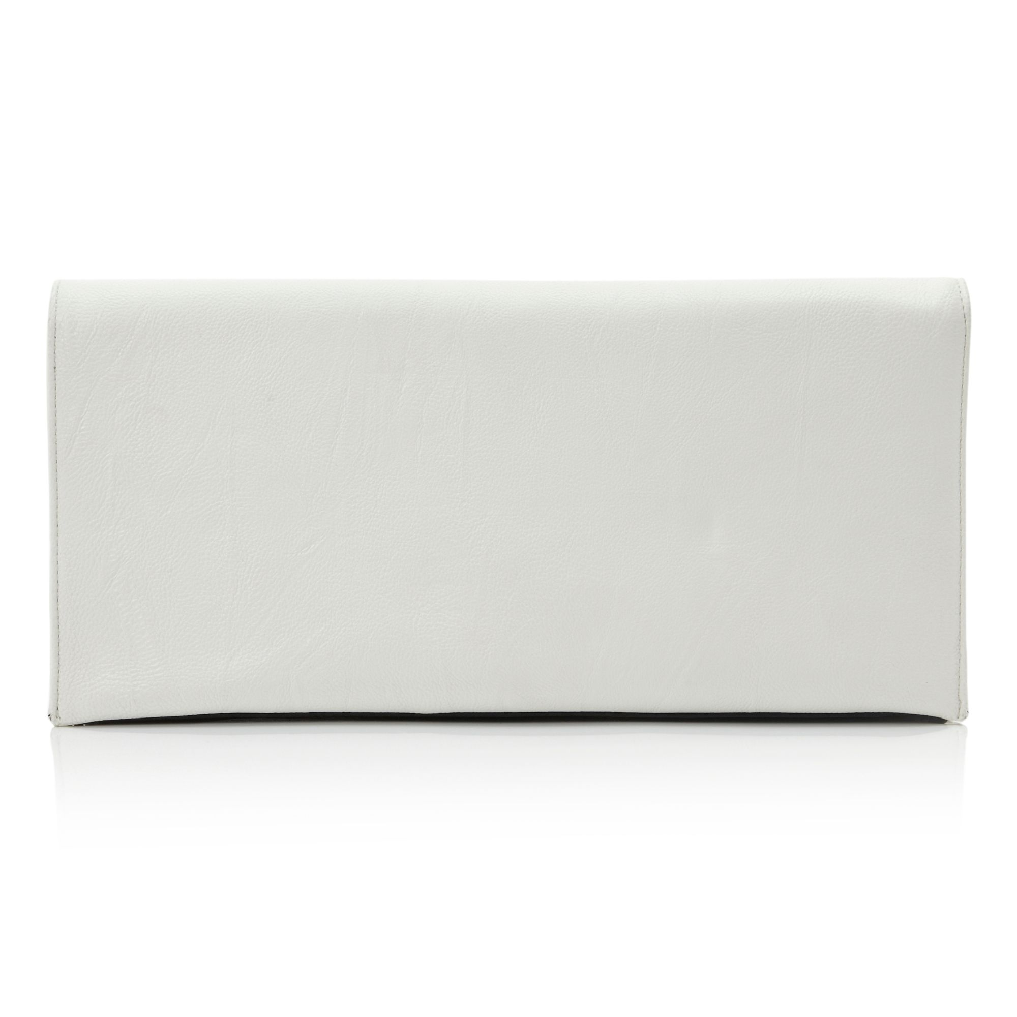 Ellie fold over clutch bag