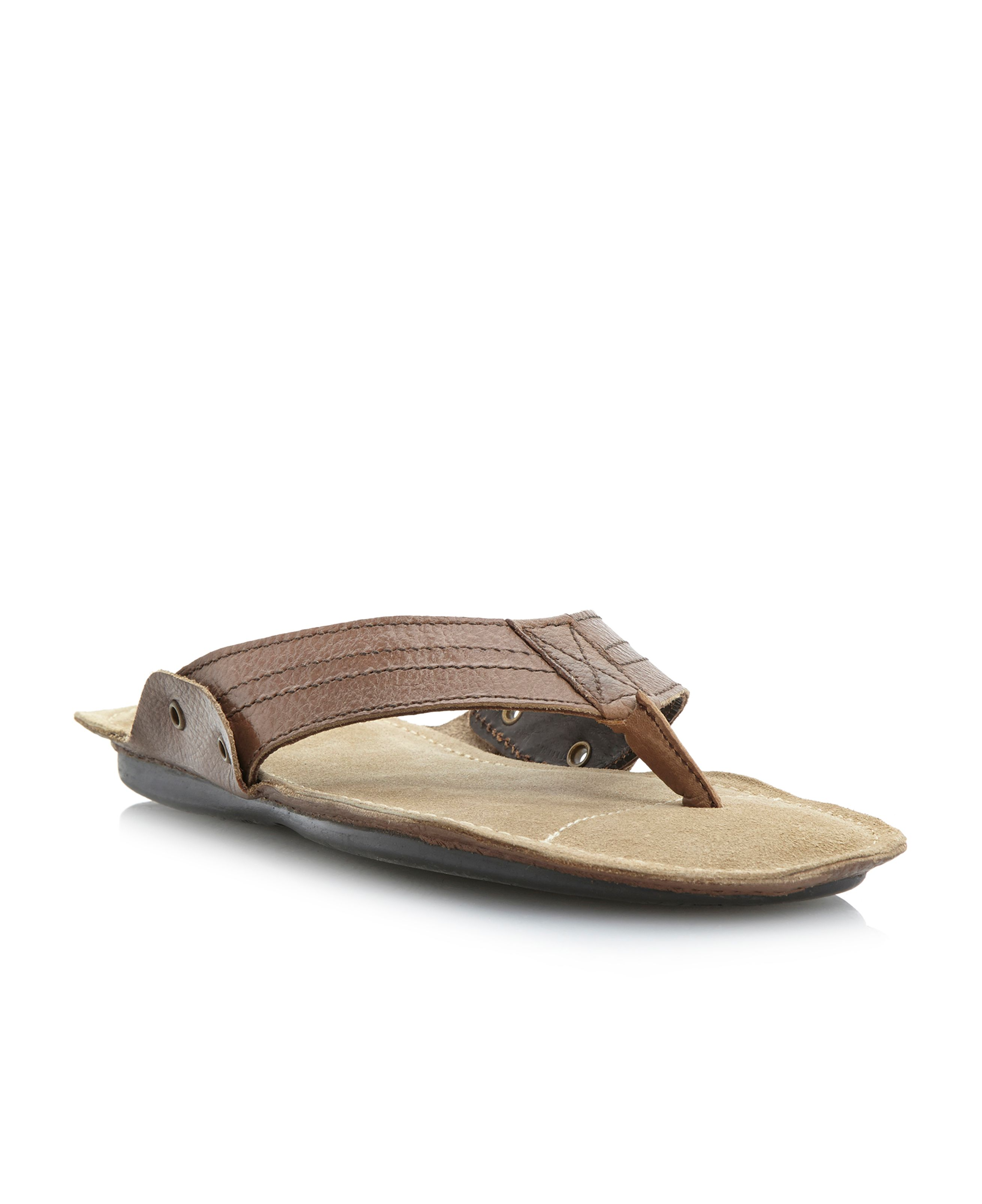 Israel flexi padded toe-p sandals