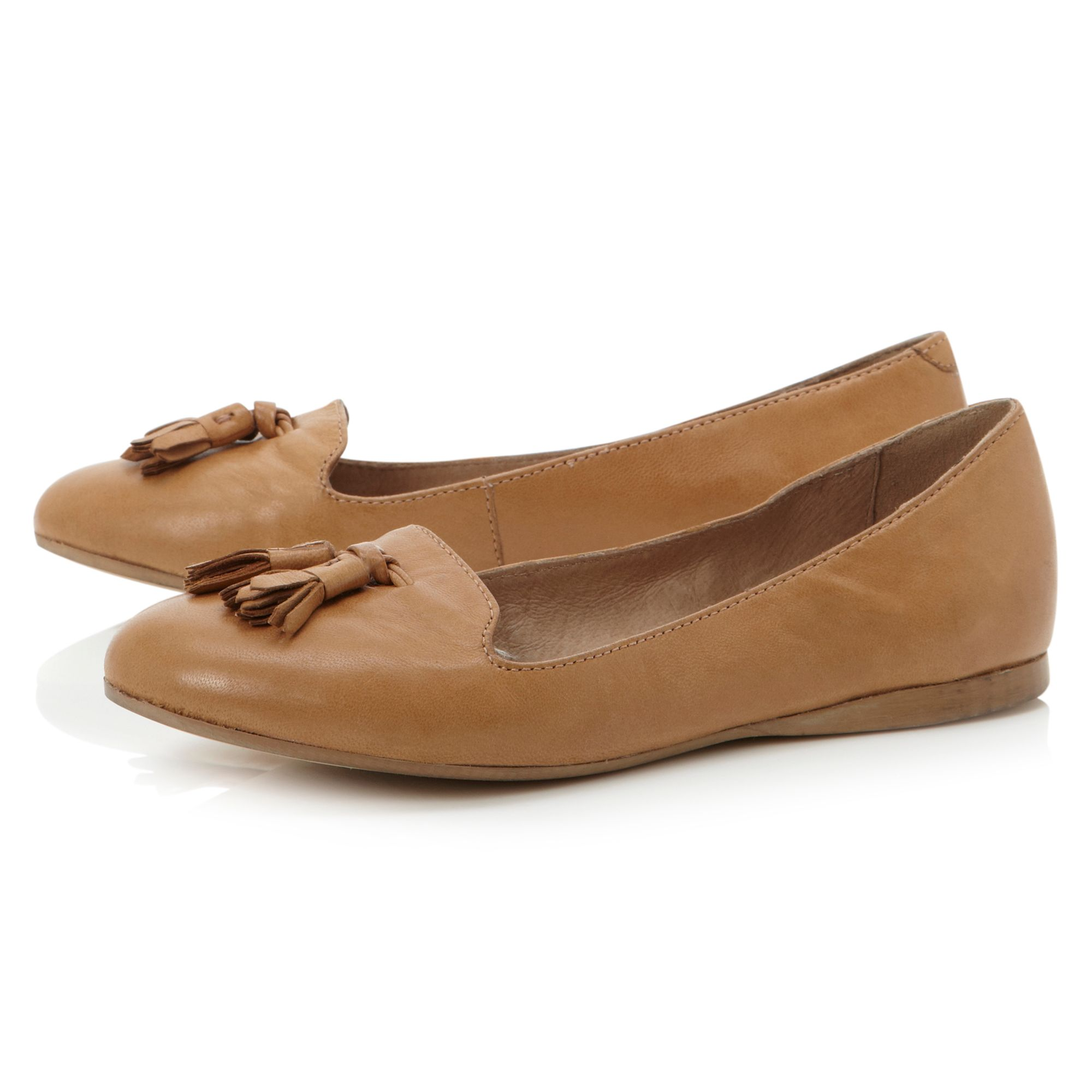 Longacres slipper cut with tassle loafer shoes