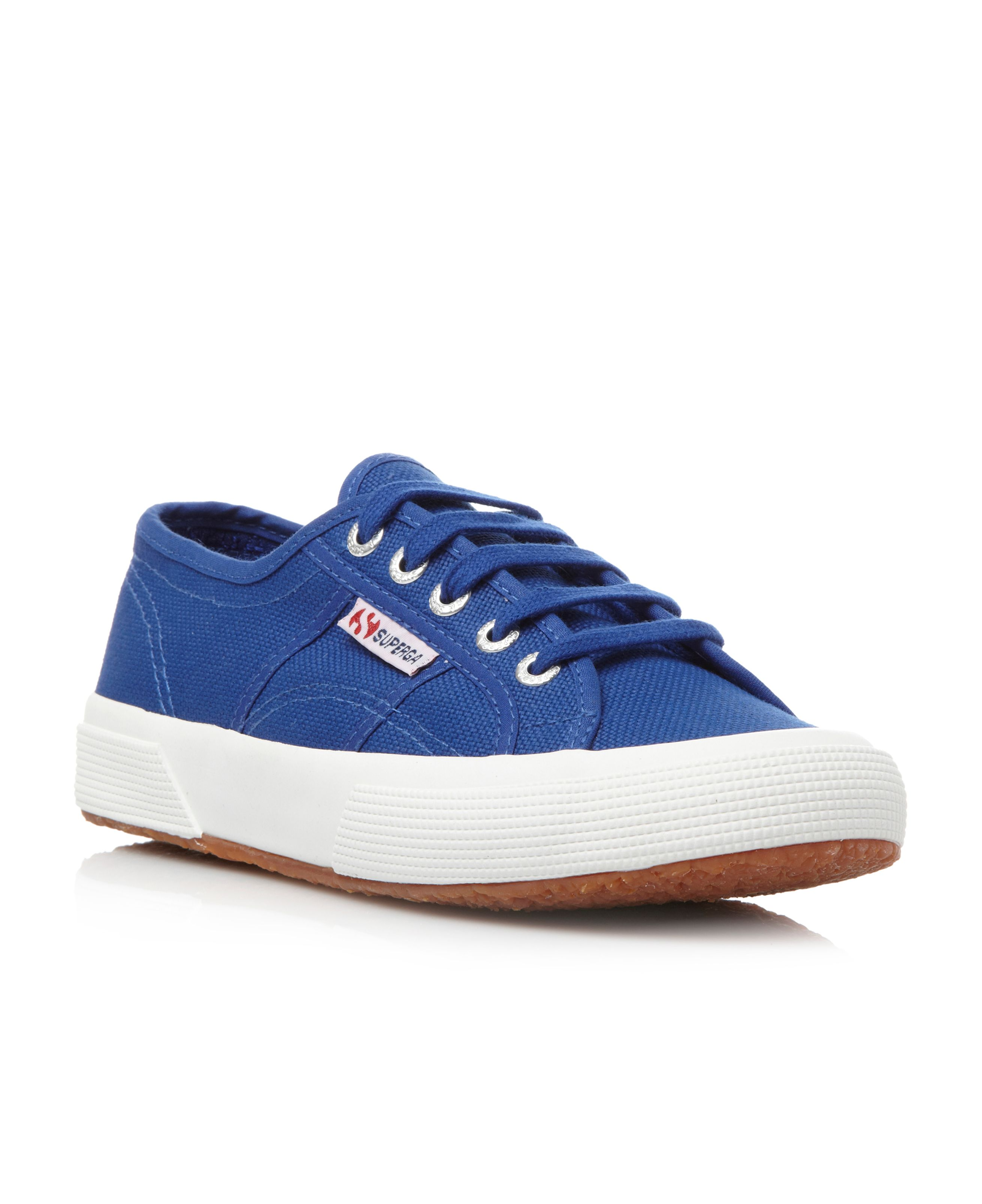 Lattitude s canvas round toe trainers