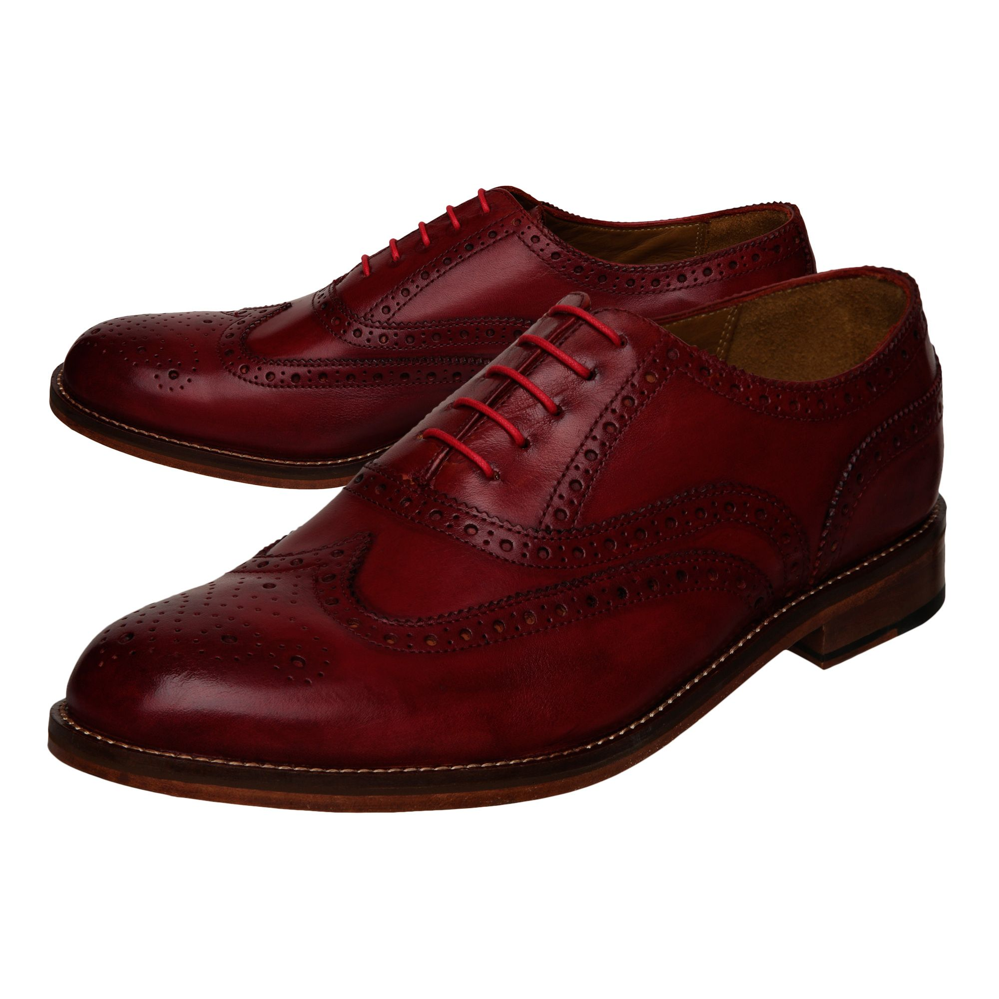 Axton leather brogues