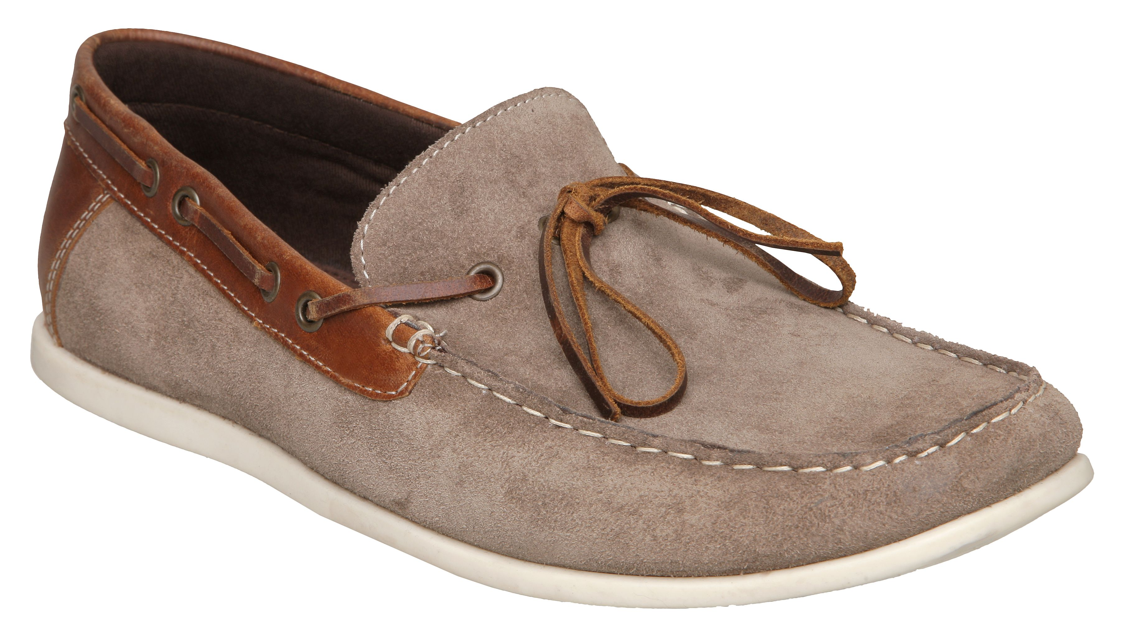 Howick Howick Below Suede Slip-on Shoes, Brown