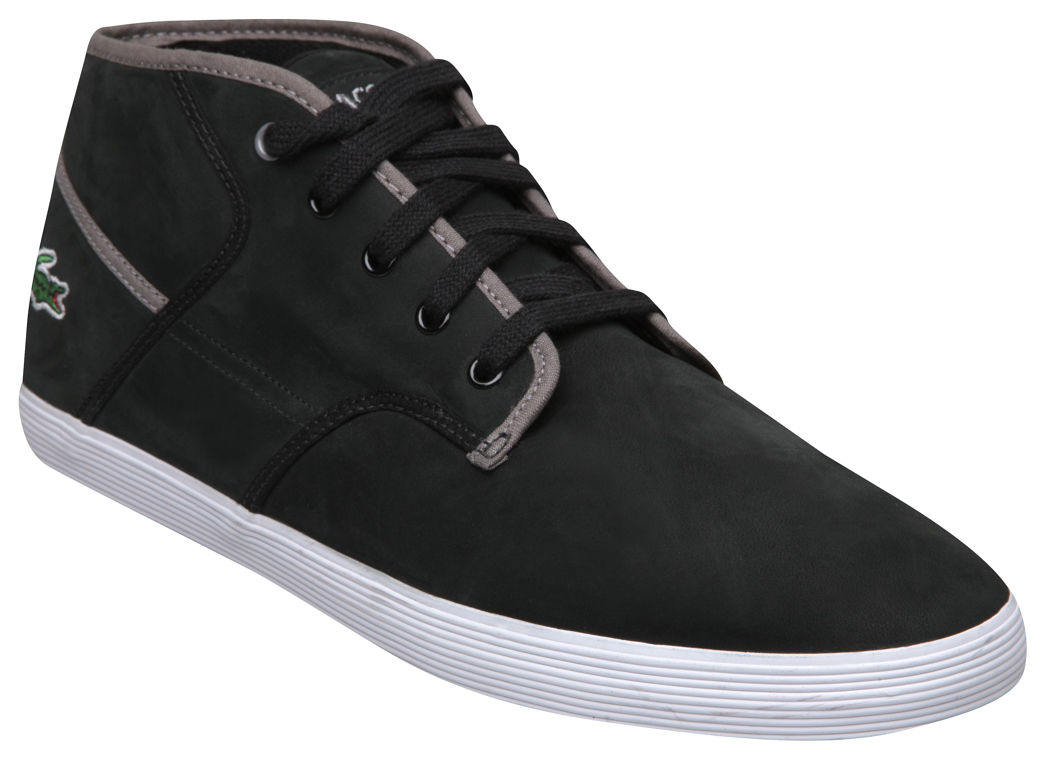 Lacoste Andover Mid High Top Trainers, Black