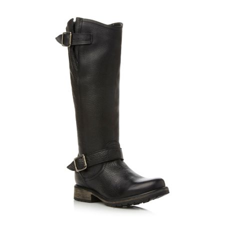 Steve Madden Fairport Sm Cleated Sole Highleg Boot