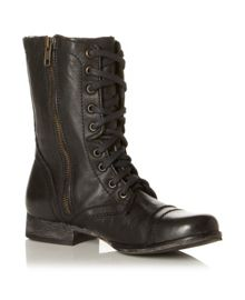 Troopa Sm Lace Up Calf Boot