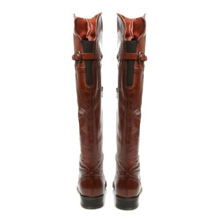 Dune Totton Over The Knee Buckle Boots