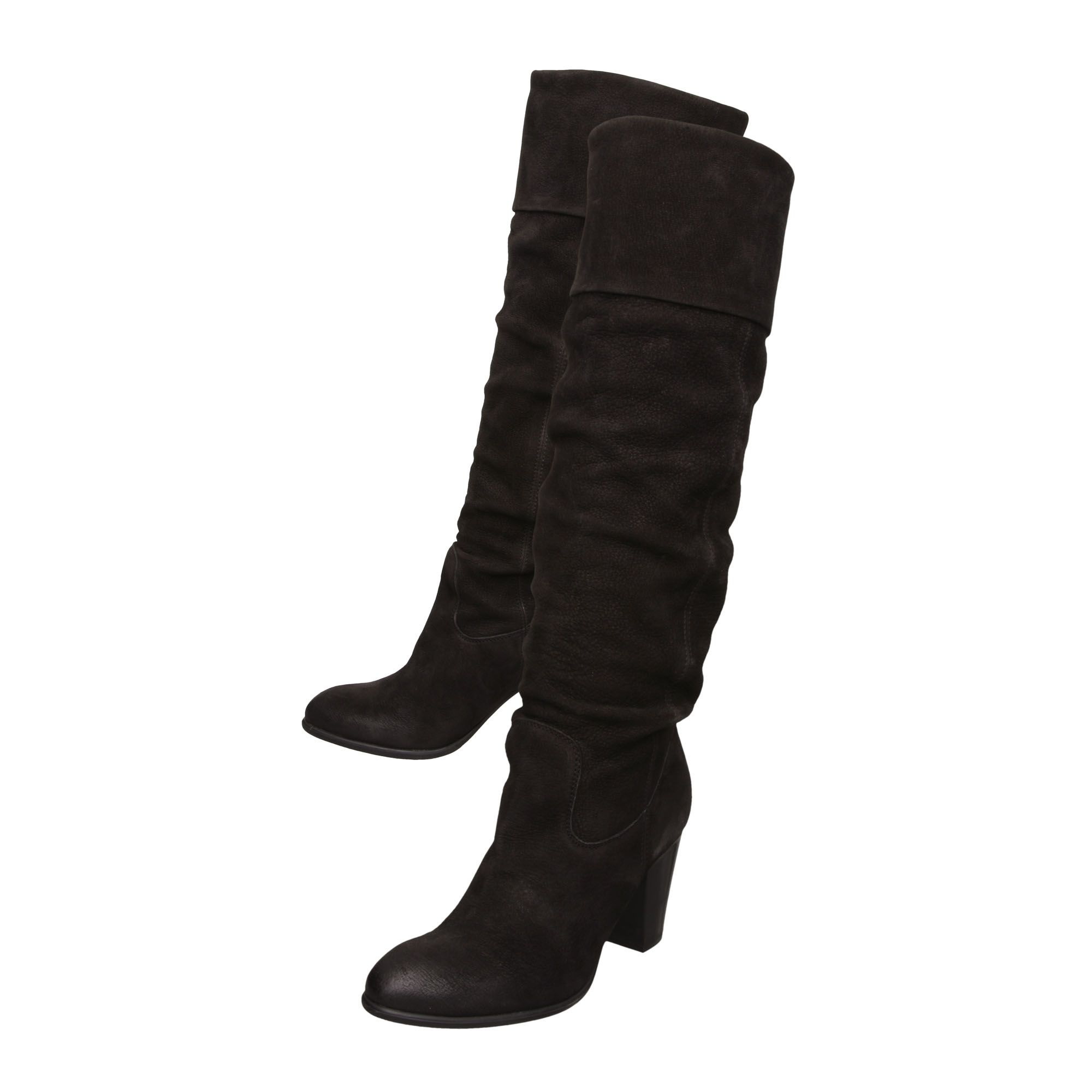 Tibet Rouched Pull On Boots
