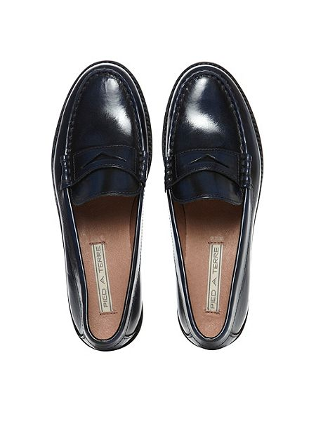 Pied A Terre Gibbran Traditional Loafer Shoes House Of