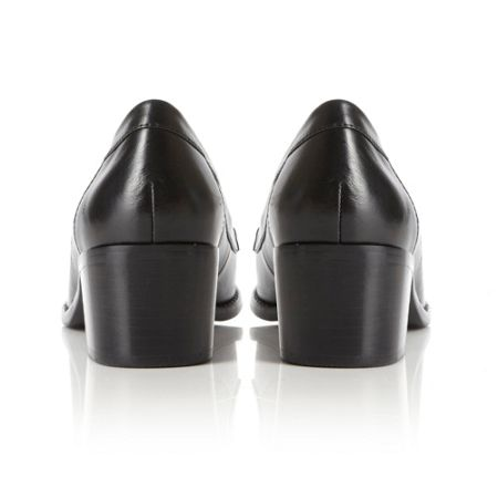 Dune Pearly Covered Gusset Buckle Shoes