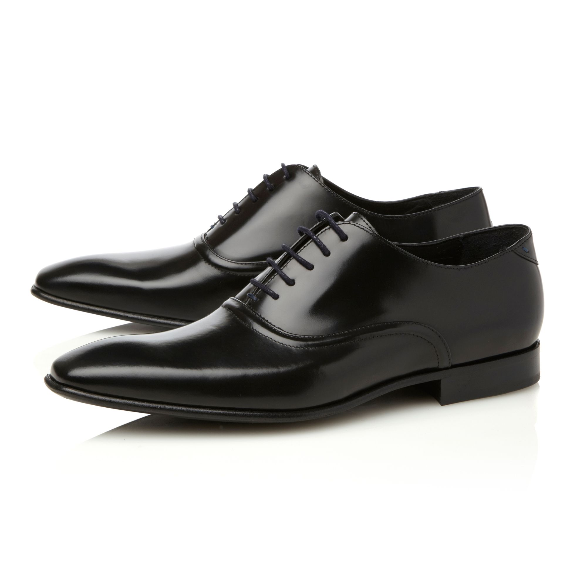 Starling centre seam plain toe shoes