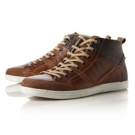 Dune Sacremento vulcanised suede shoes
