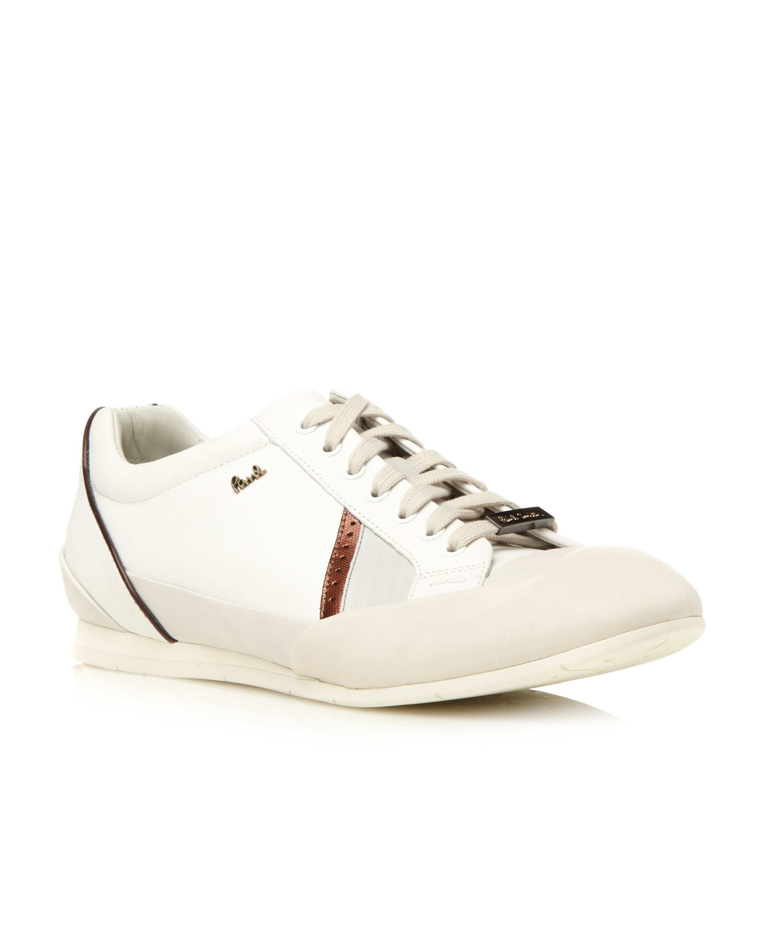 Winder bump toe side stripe trainers
