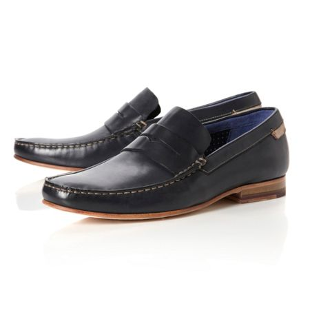 Ted Baker Victric 3 leather penny loafers
