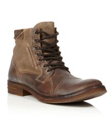 Cropper toe cap warm lined boots