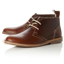 Hampstead suede lace up desert boots