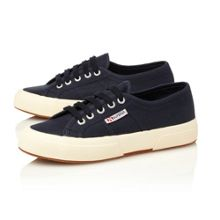 Superga 2750 Plain Lace Plimsolls