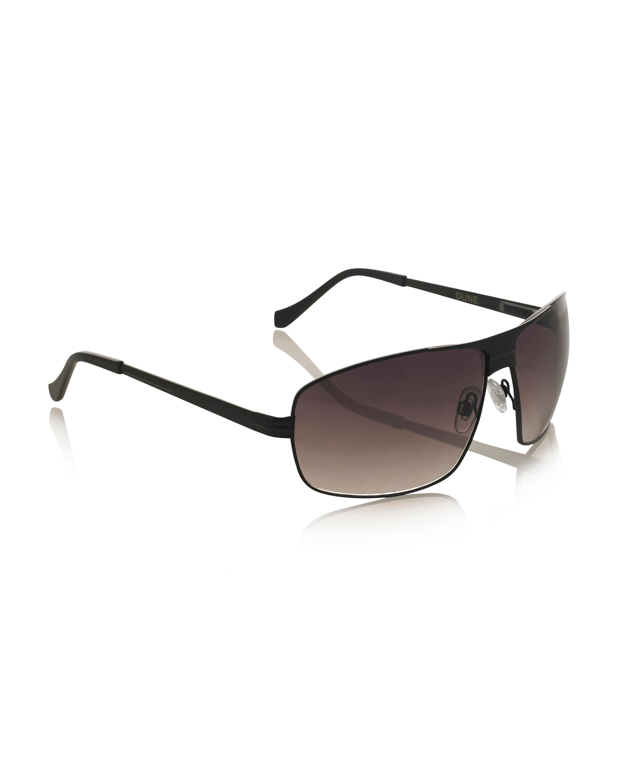 Prez black metal frame sunglasses