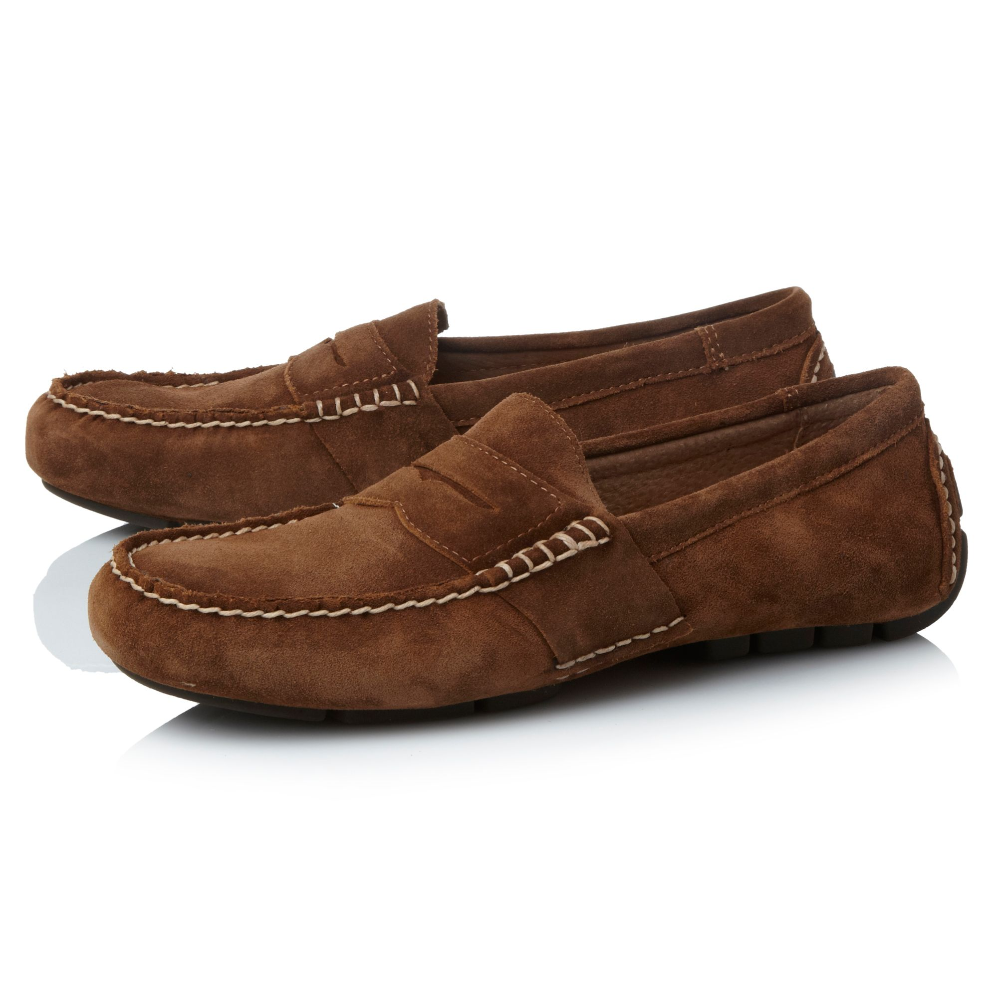 Telly suede penny loafers