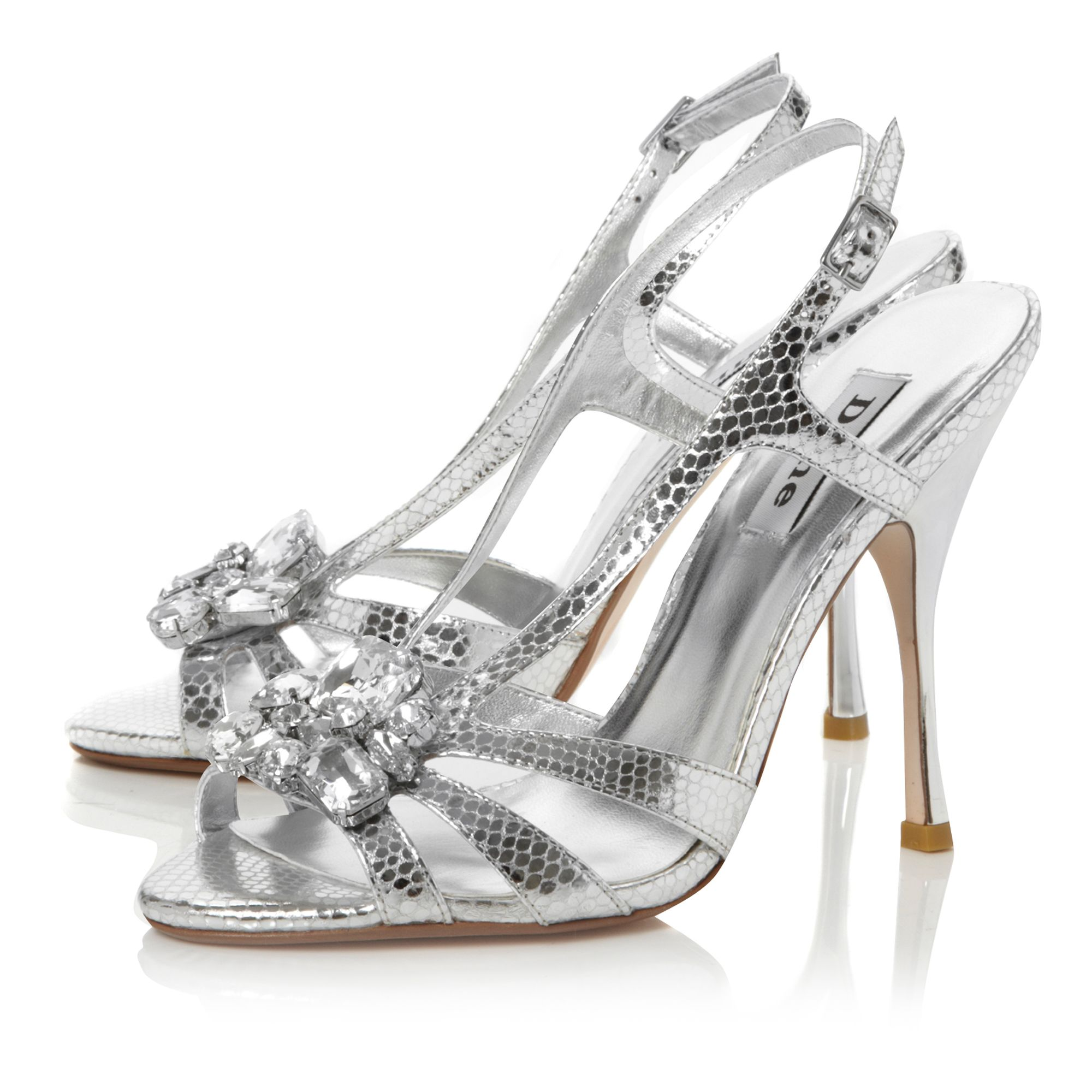 Habitat Larged Caged Jewel Sandals