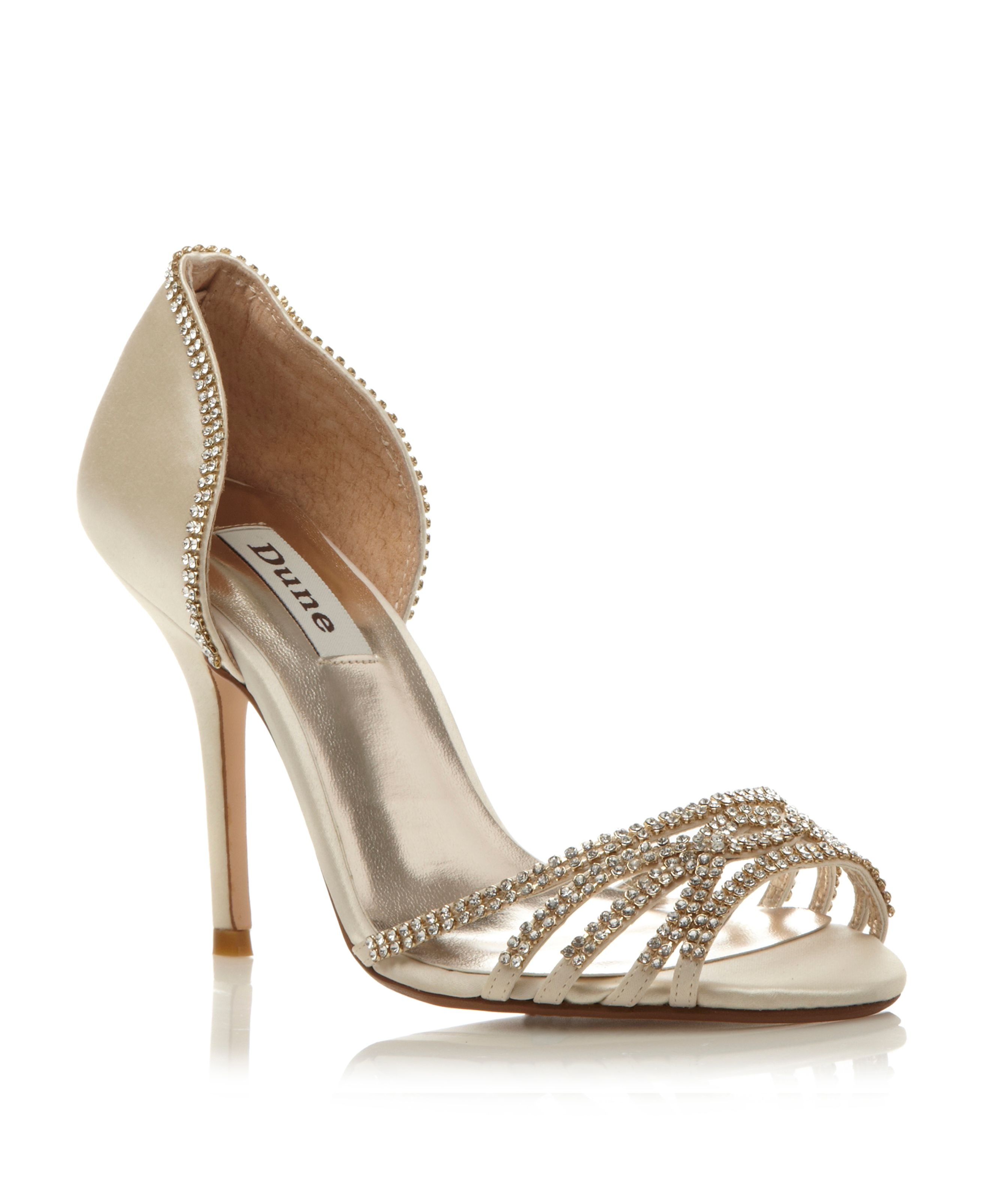 Haute Two Part Diamante Sandals