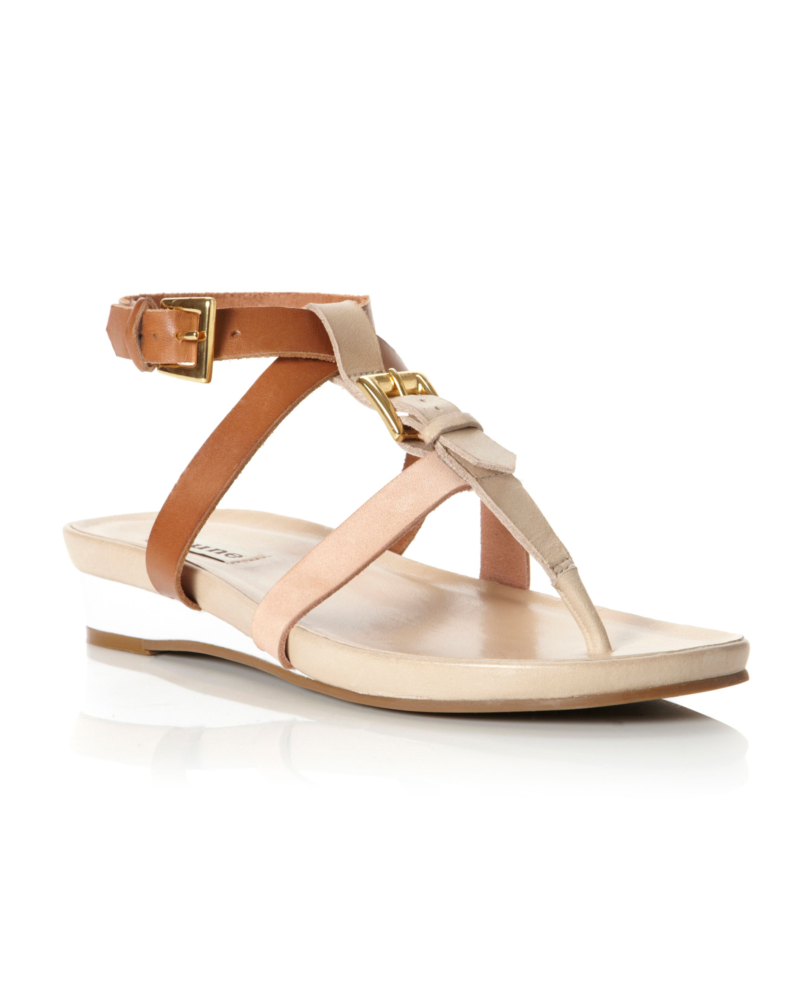 Janella Footbed Buckle Strappy Sandals