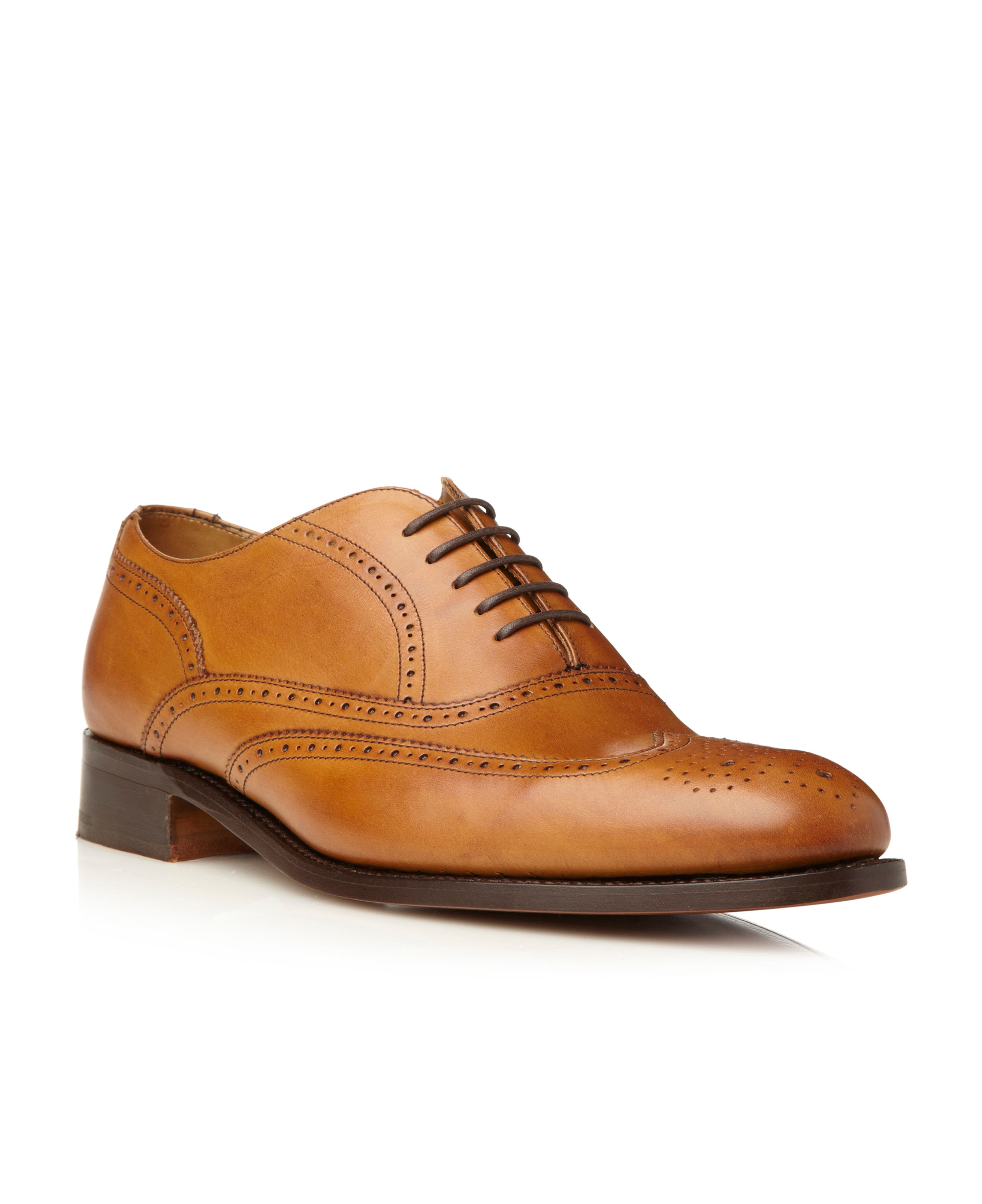 Norton 5 eye wingtip brogues