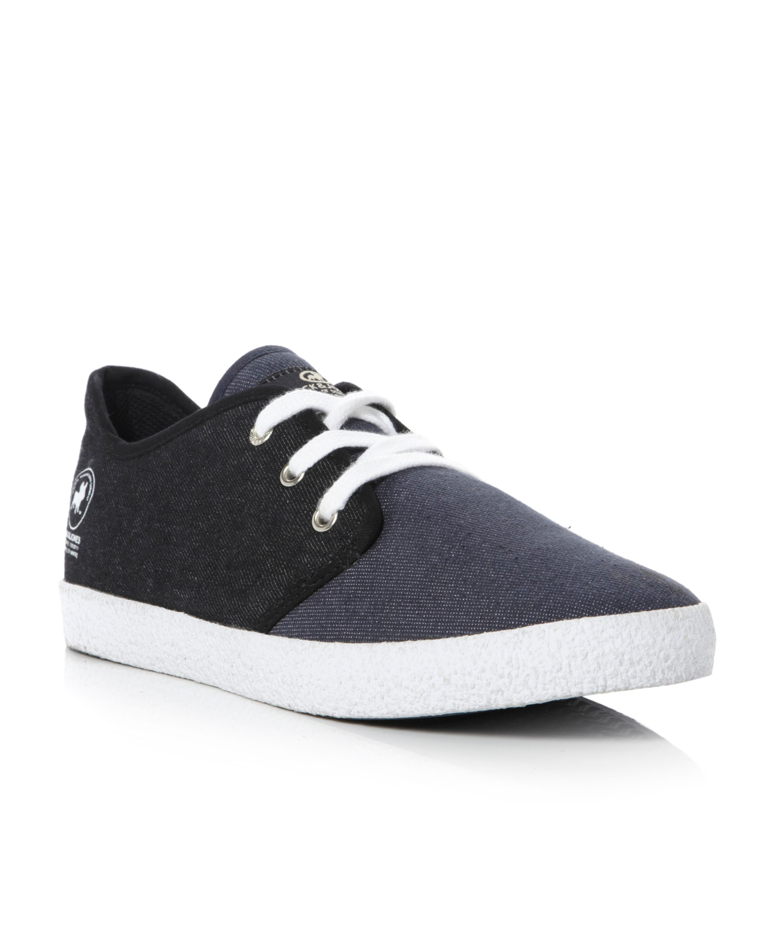 Jj Oslo Shoe two tone denim trainer