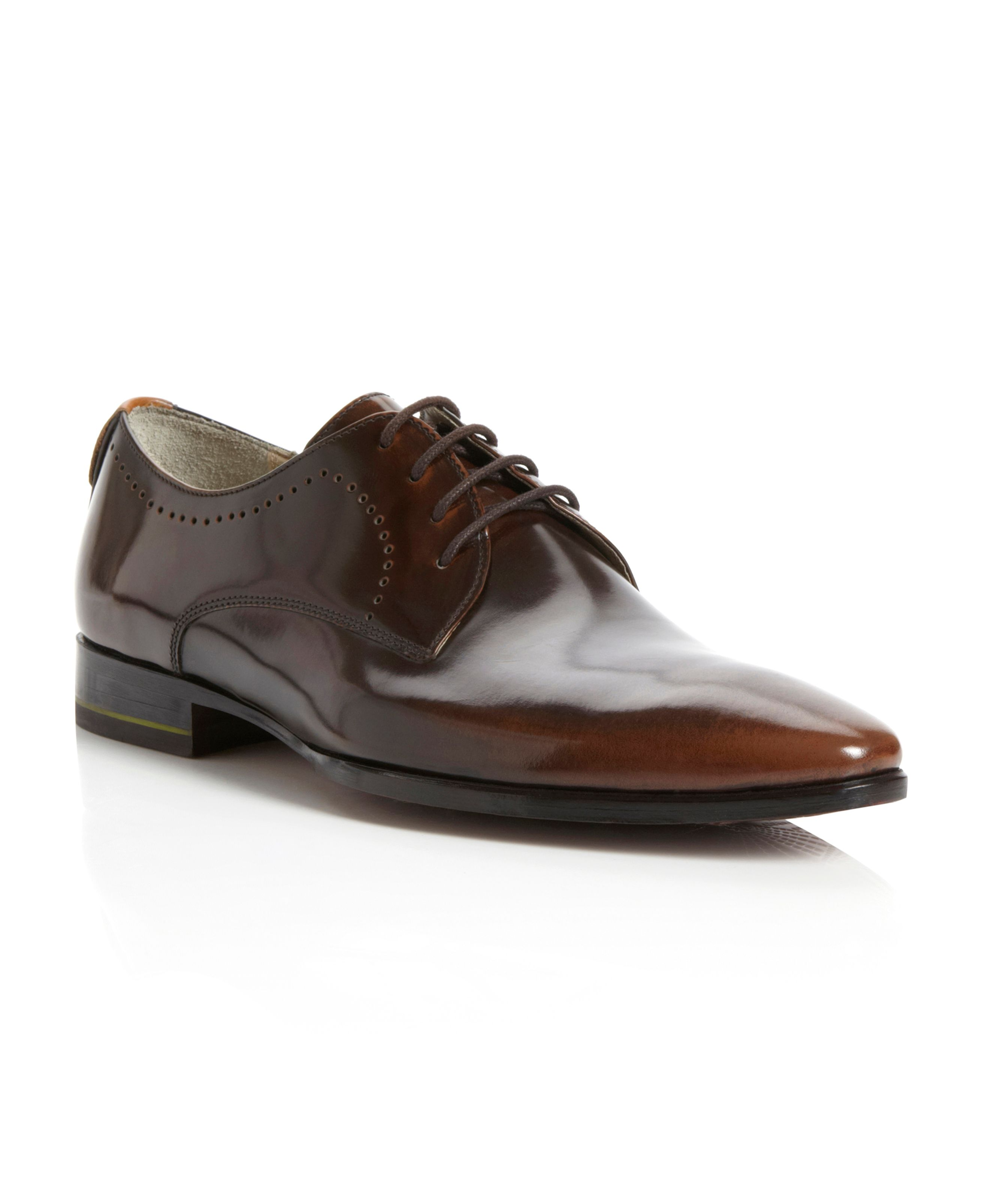 Branford punched detail formal shoes