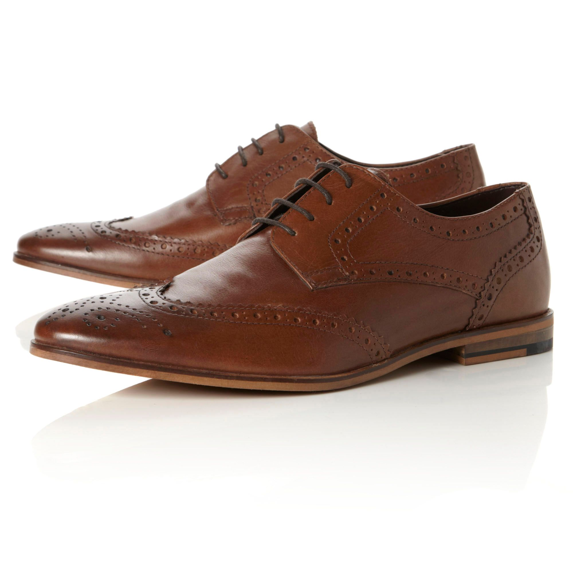 Brompton casual lace up brogues