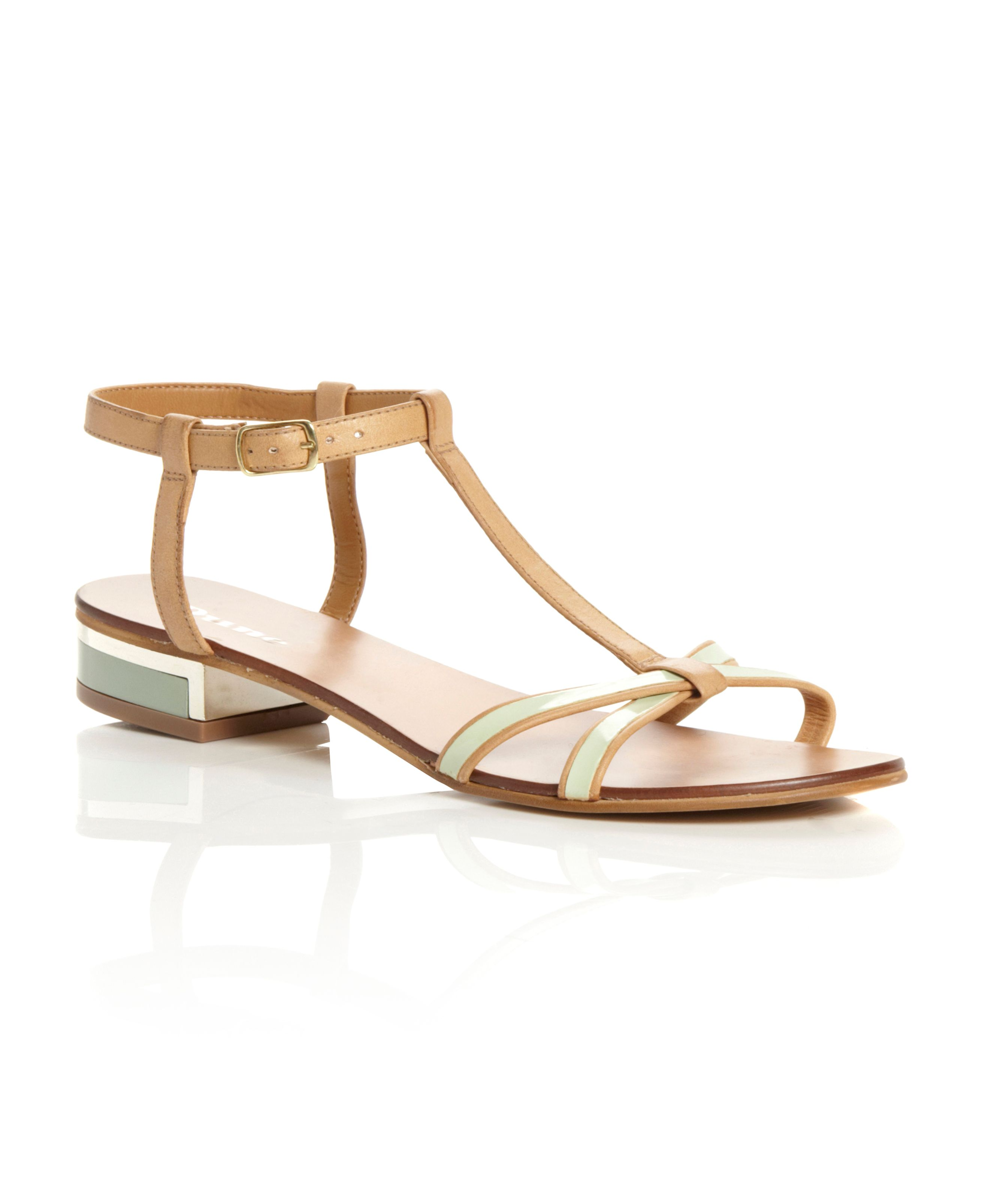 Finley low cross strap sandals