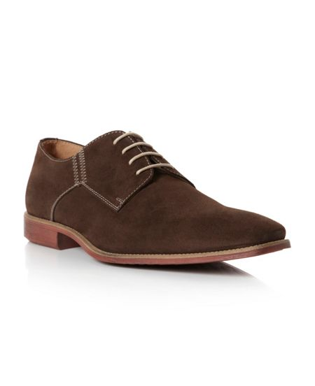 Roland Cartier Belgravia contrast stitch chisel shoes