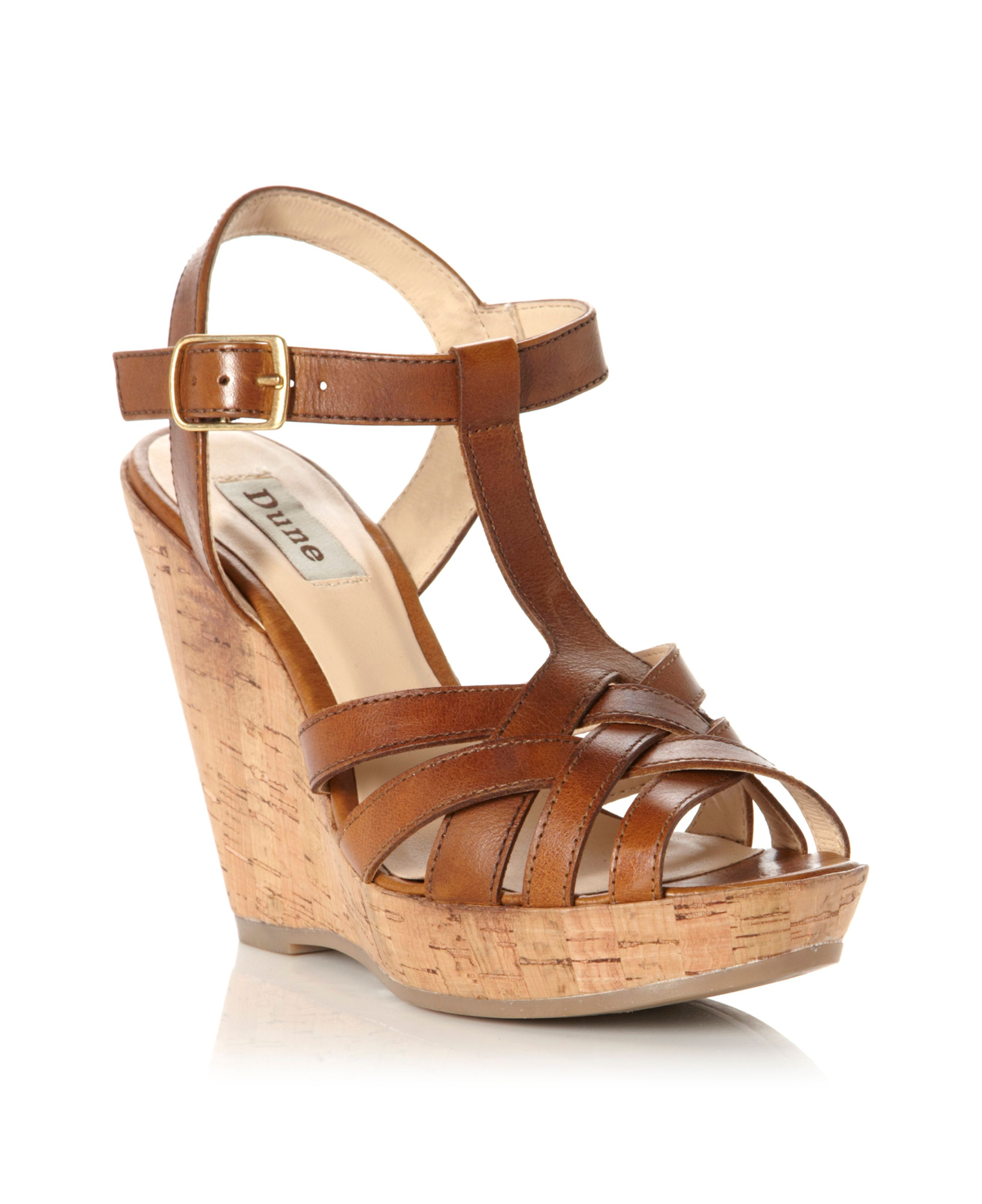 Gerri t bar wedge shoes