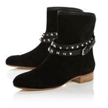Odelia Ankle Strap Boots
