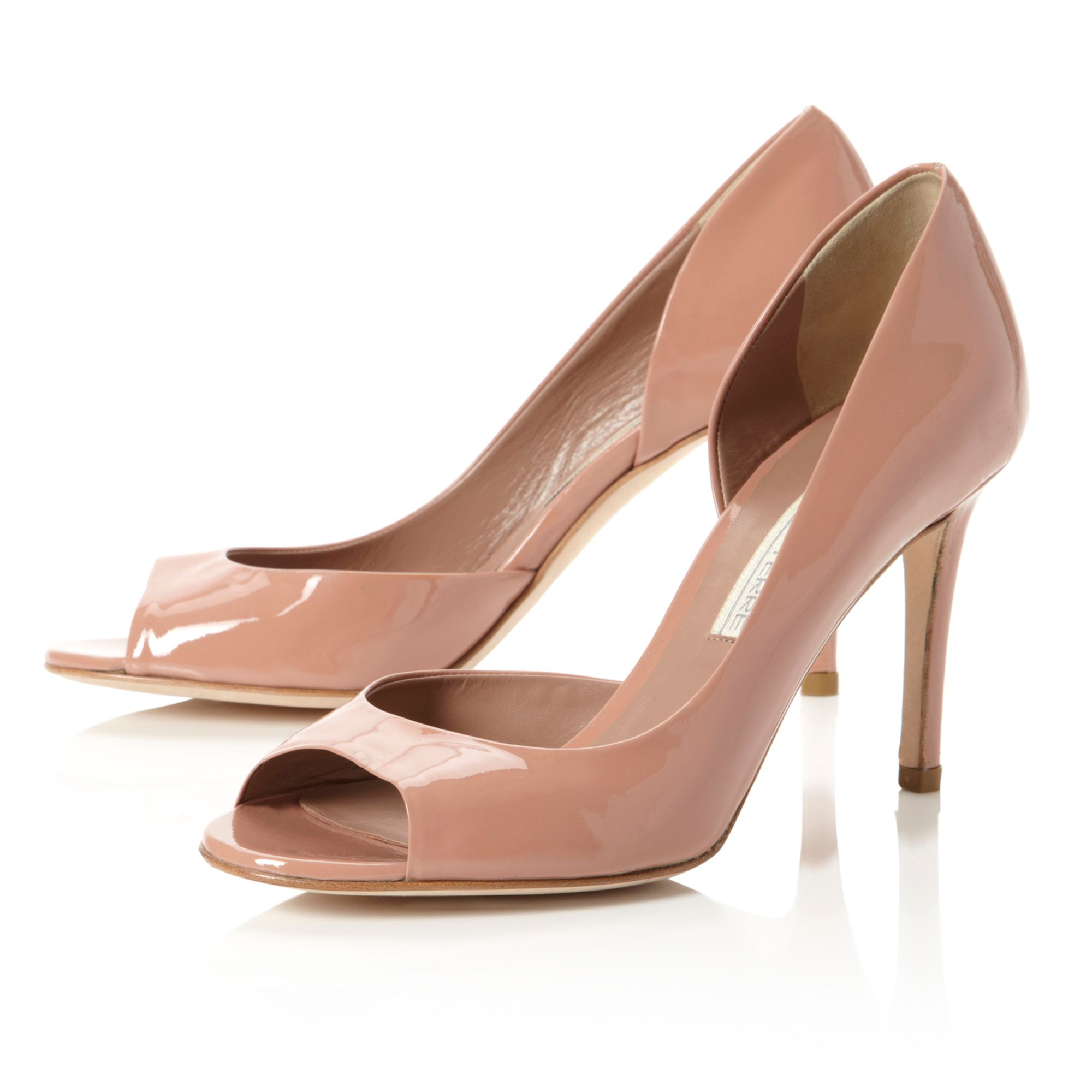 Carland Peep Toe Court Shoes
