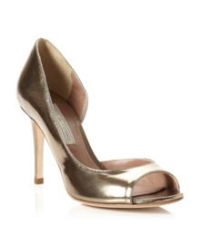Pied a Terre Carland Peep Toe Court Shoes