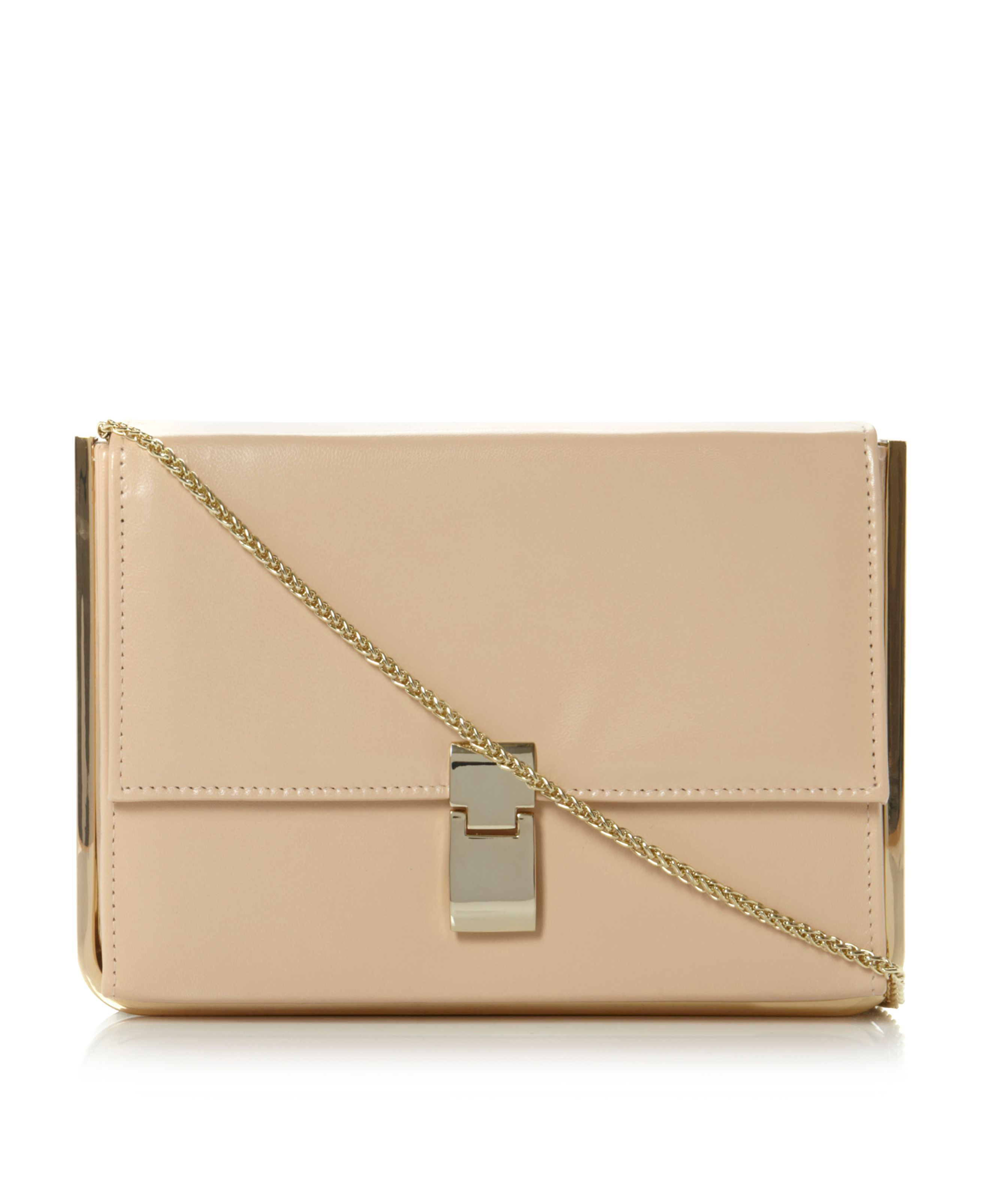 Braizen Structured Clutch Bag