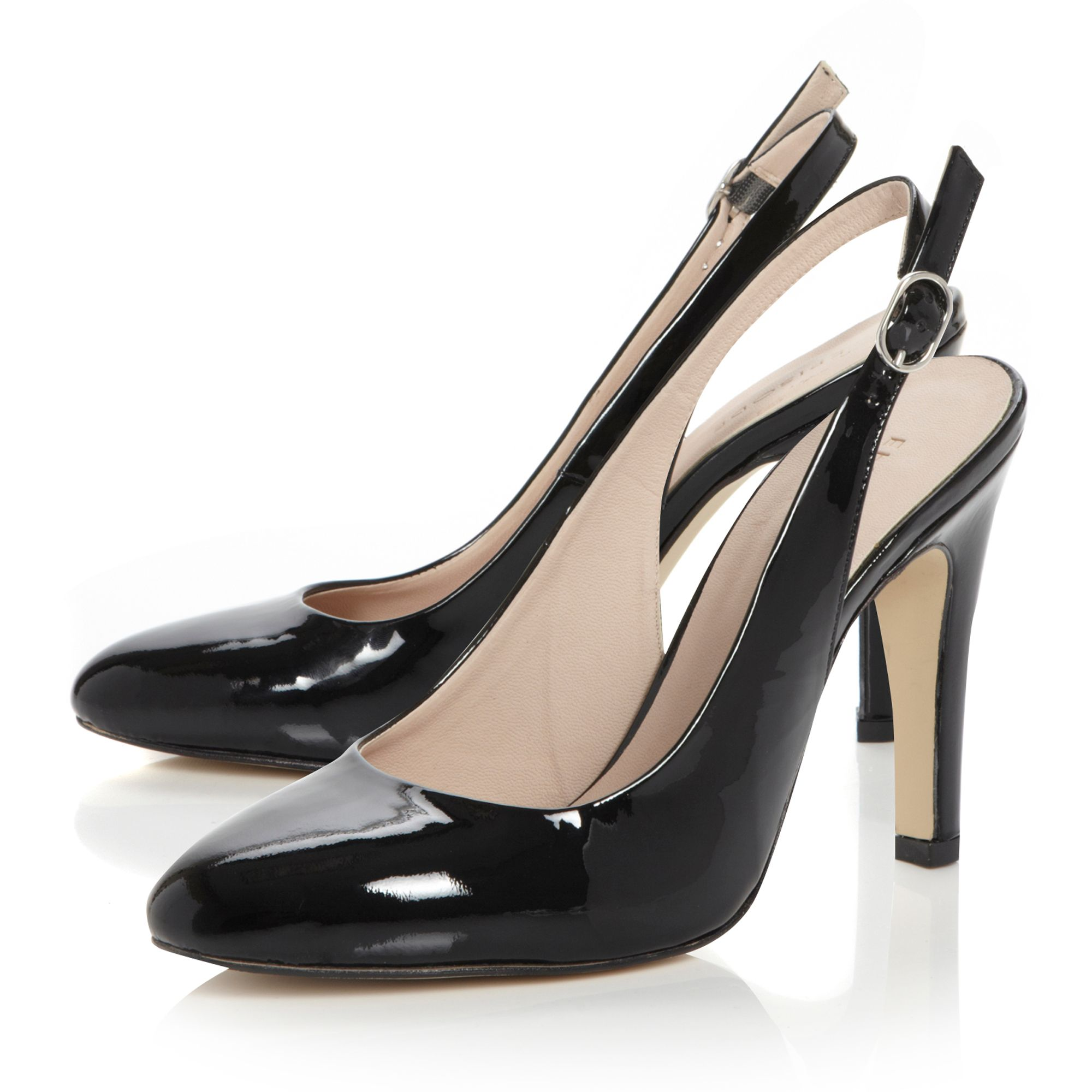 Calamity plain sling back shoes