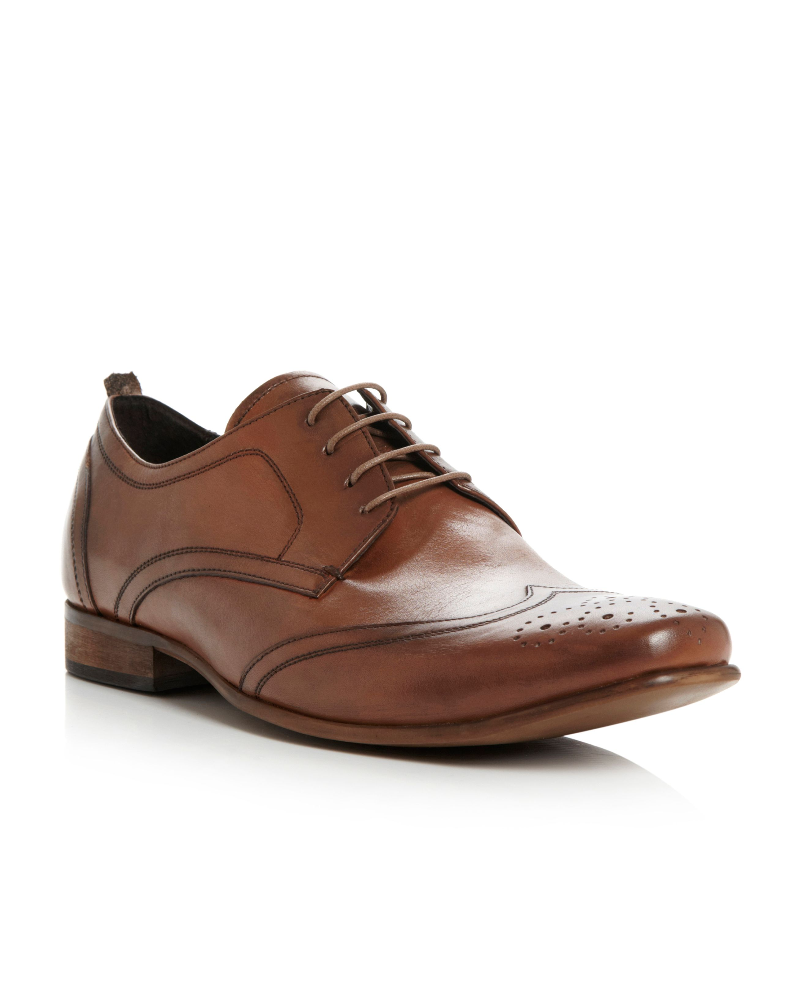 Arnold circus round toe lace up brogues