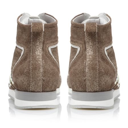 Pied a Terre Princip High Top Lace Up Shoes