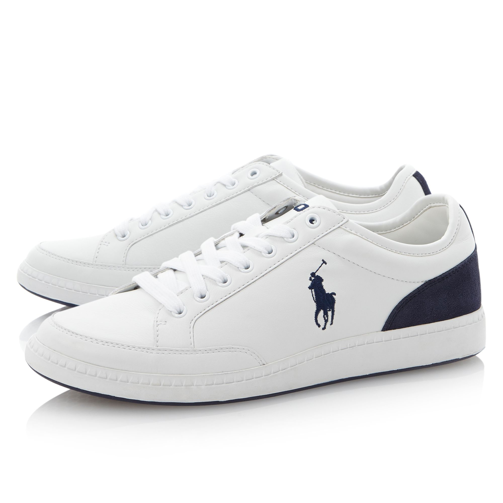 Hurlston round toe side logo sneaker trainers