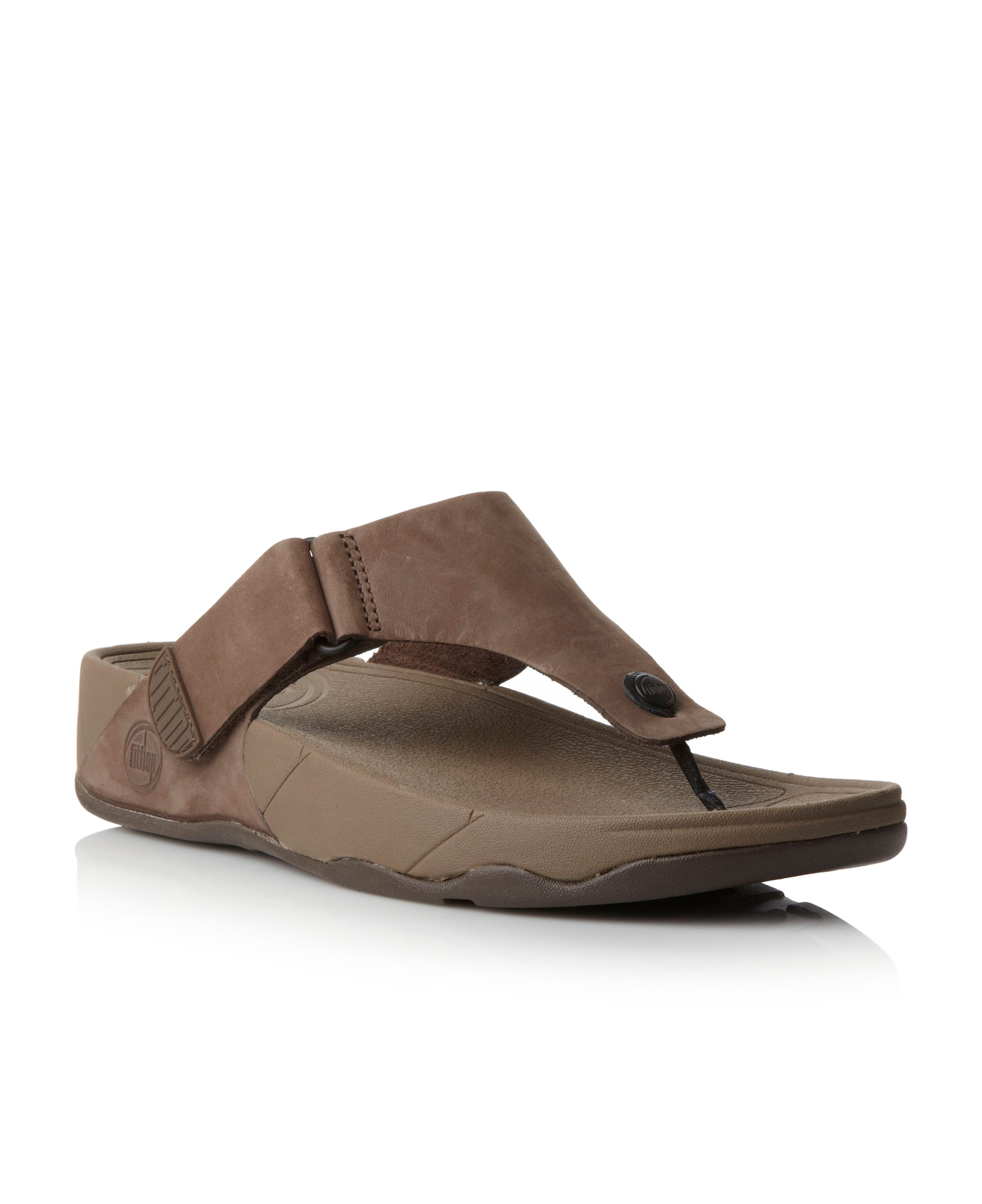 Trakk velcro strap t-post sandals