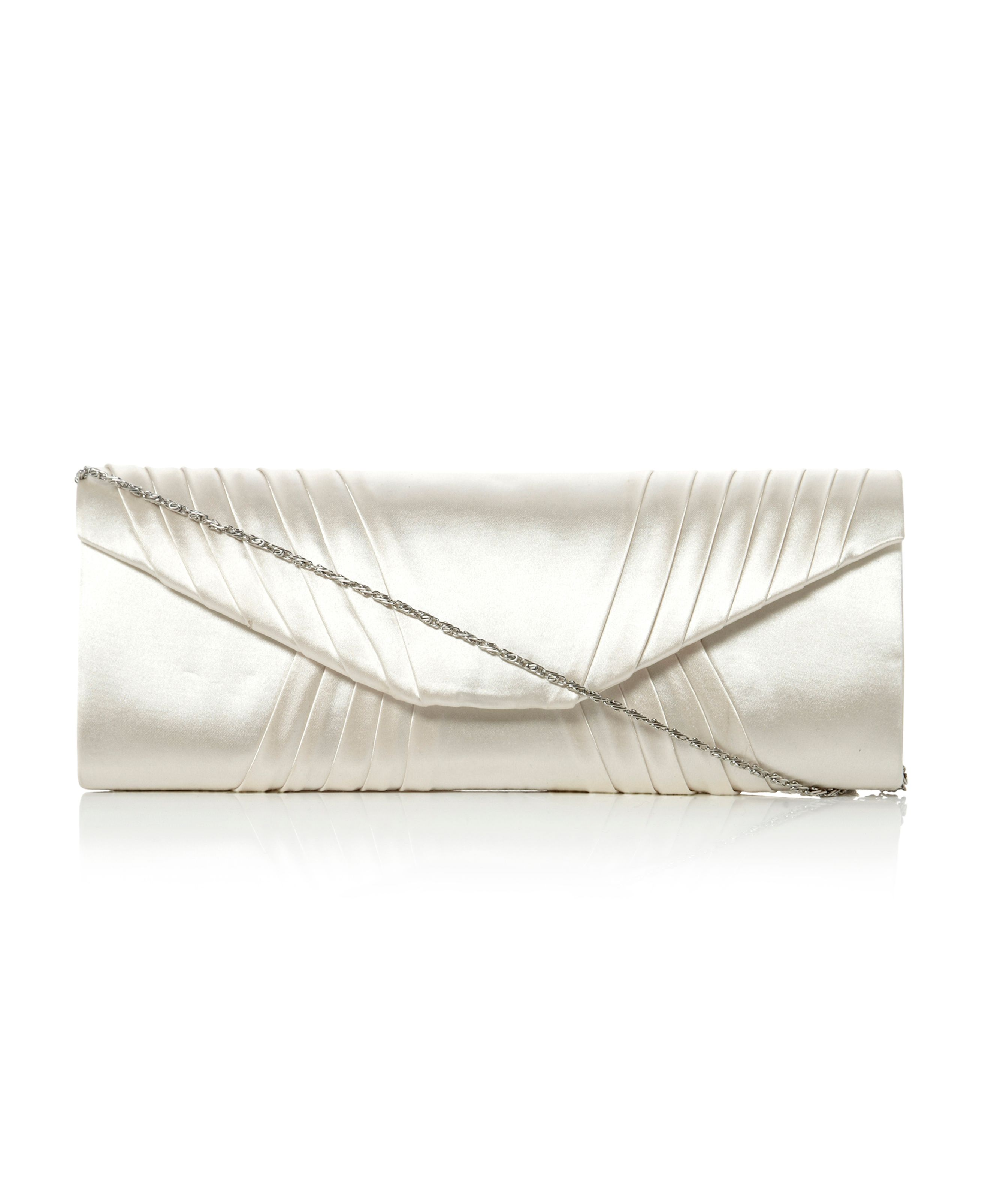 B Generic U Pleat Clutch Bag