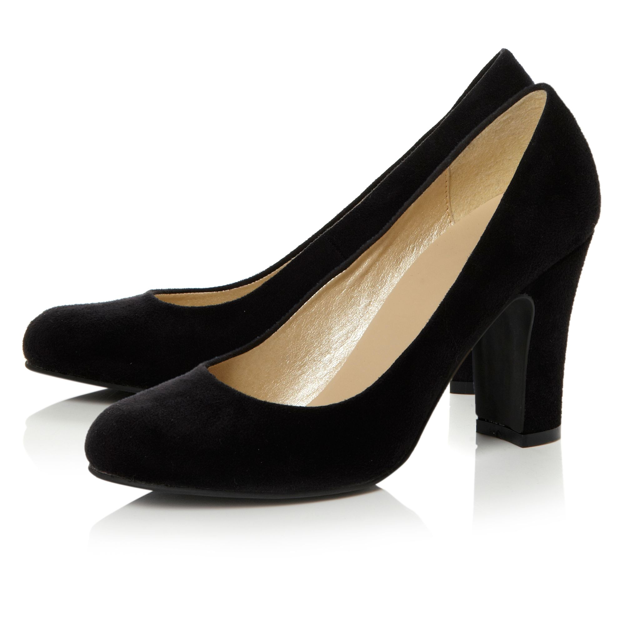 Almeria Plain Court Shoes
