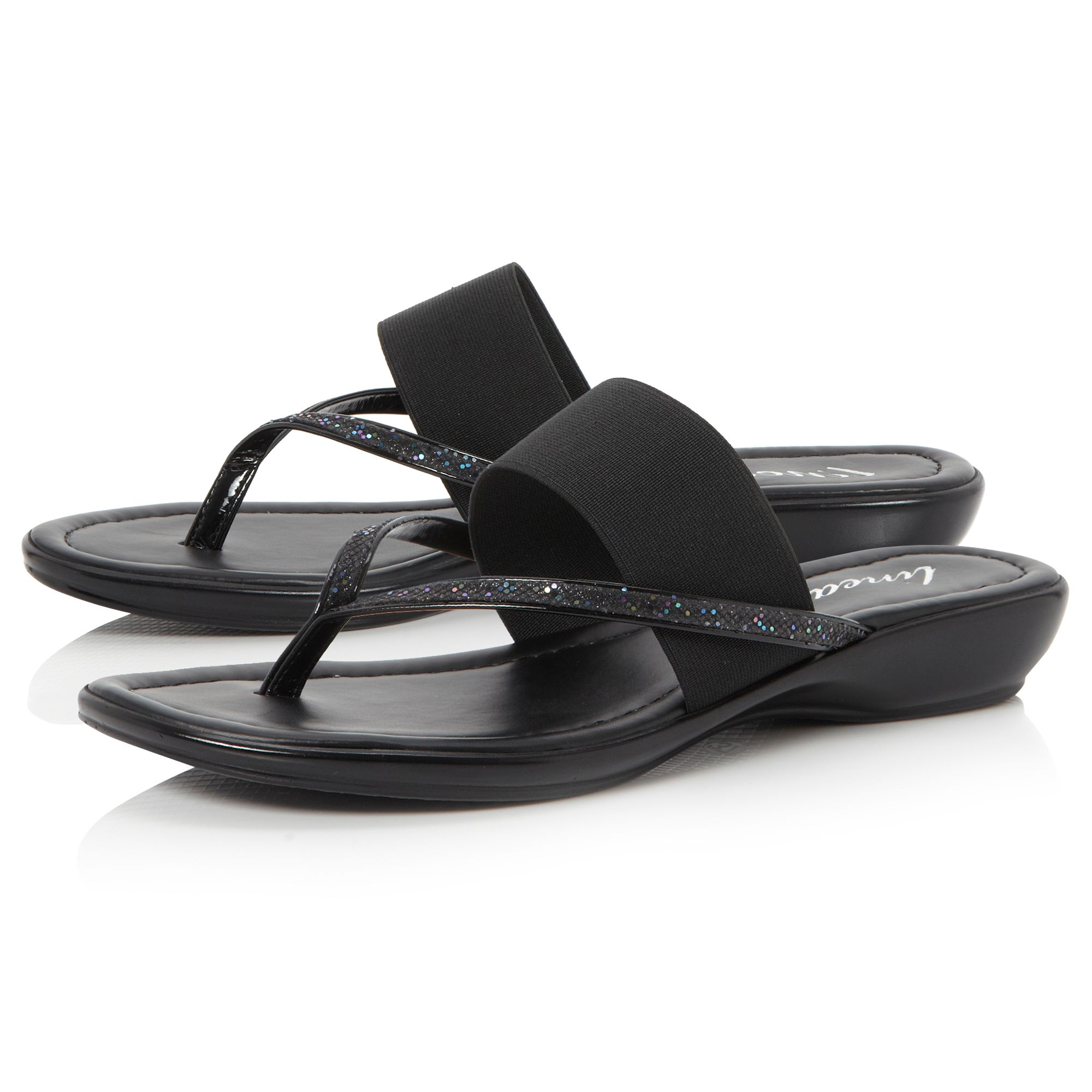 Johnstown elastic flat sandals