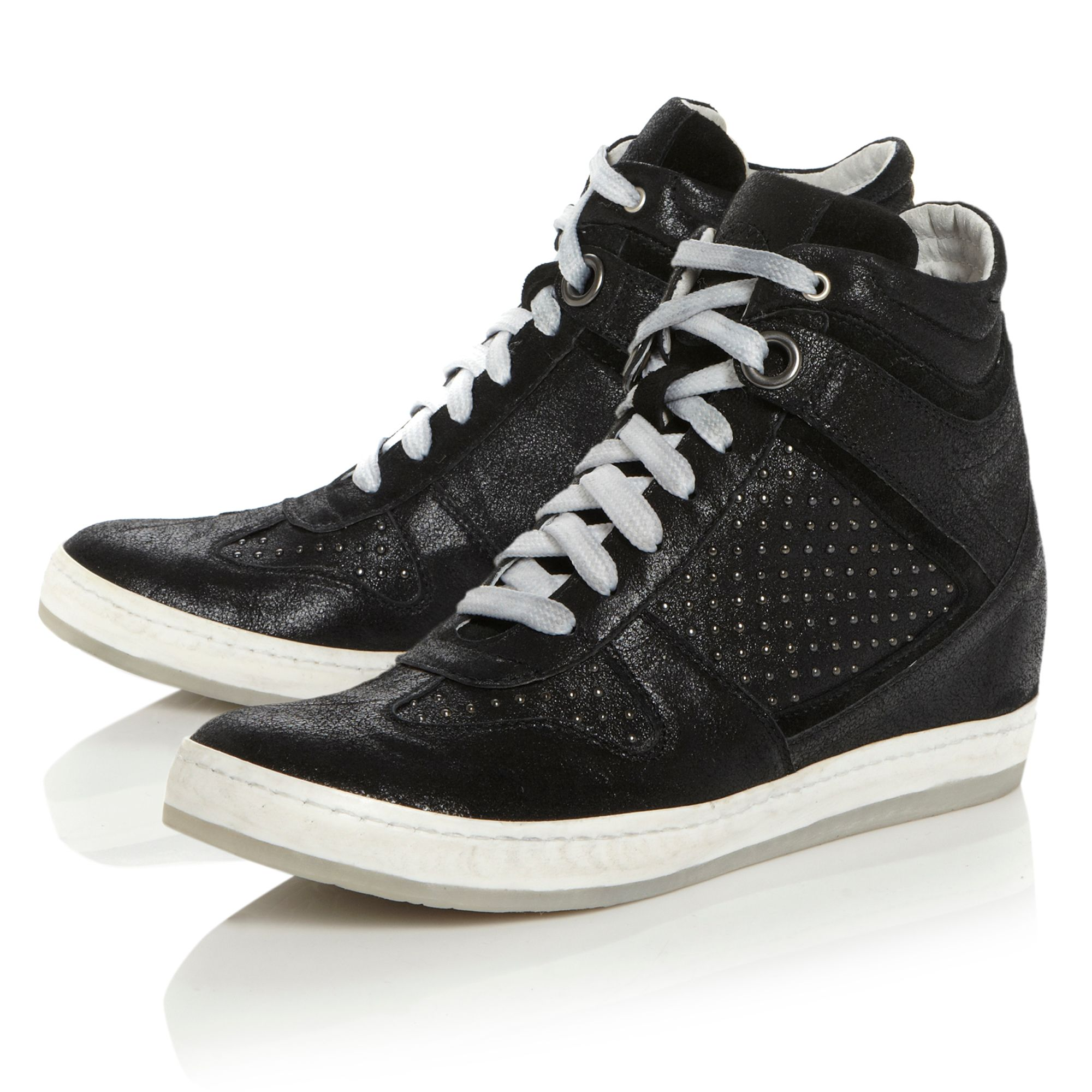 Paine Studded Wedge Trainer Shoes